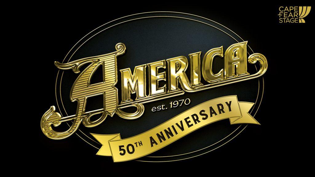 America 50th Anniversary logo