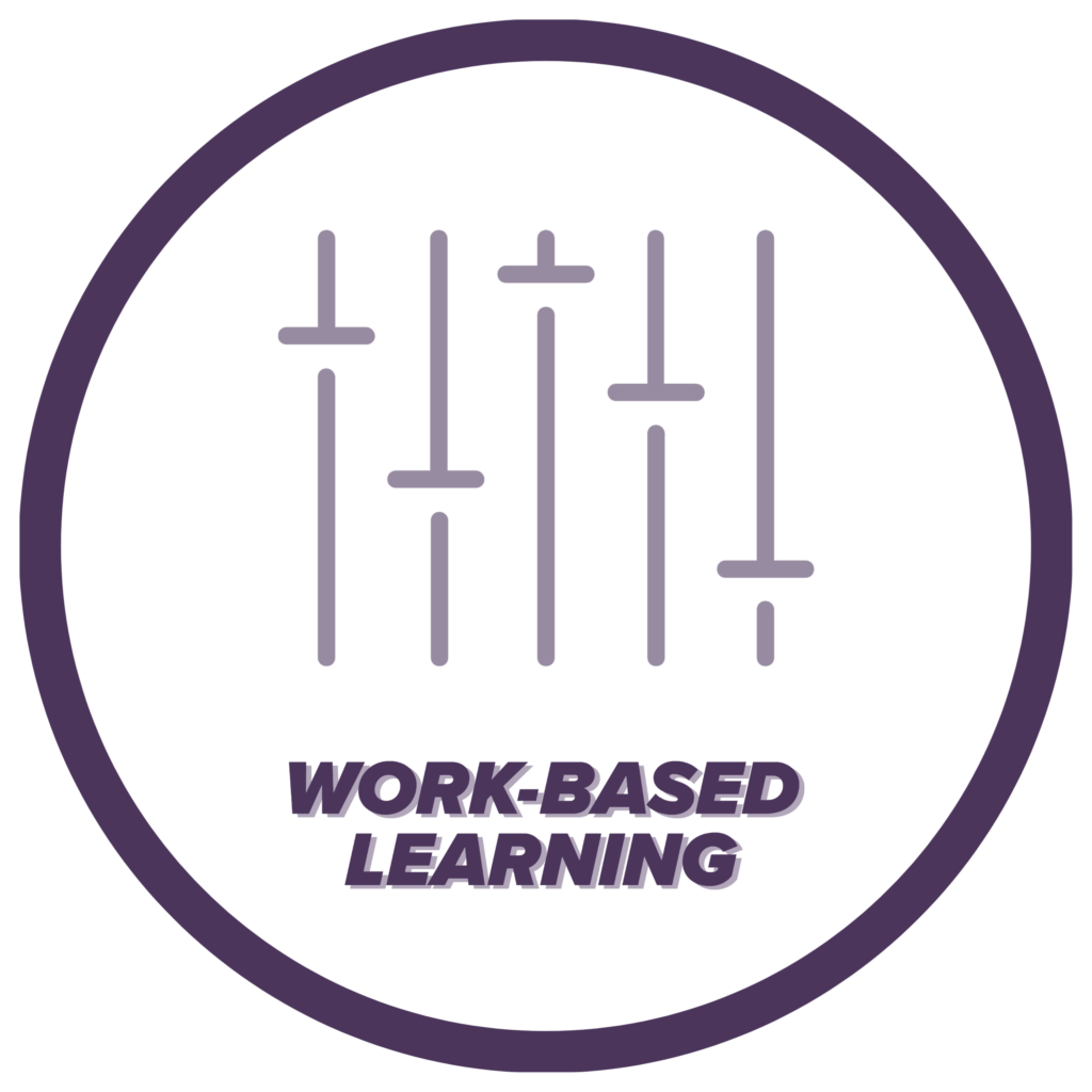 Work-Based Learning icon, click to learn more